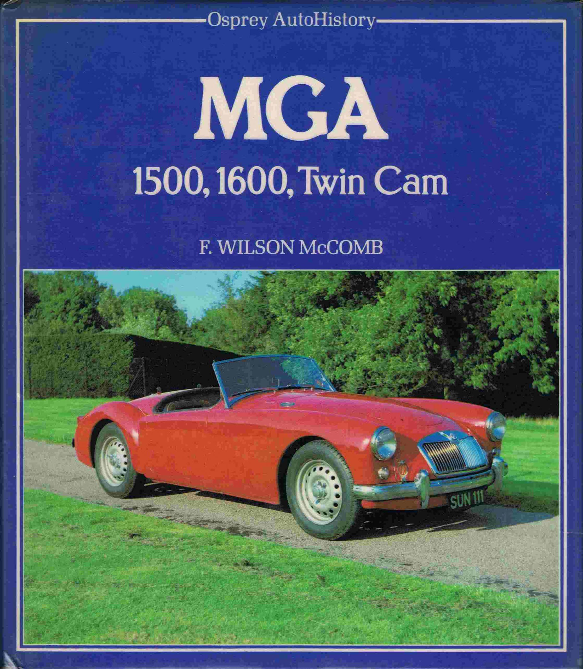 MGA 1500, 1600, Twin Cam