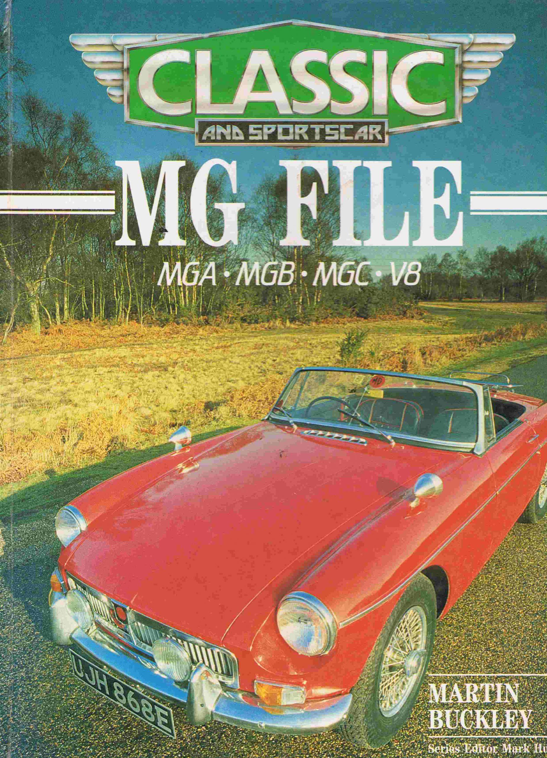 MG File MGA, MGB, MGC, V8