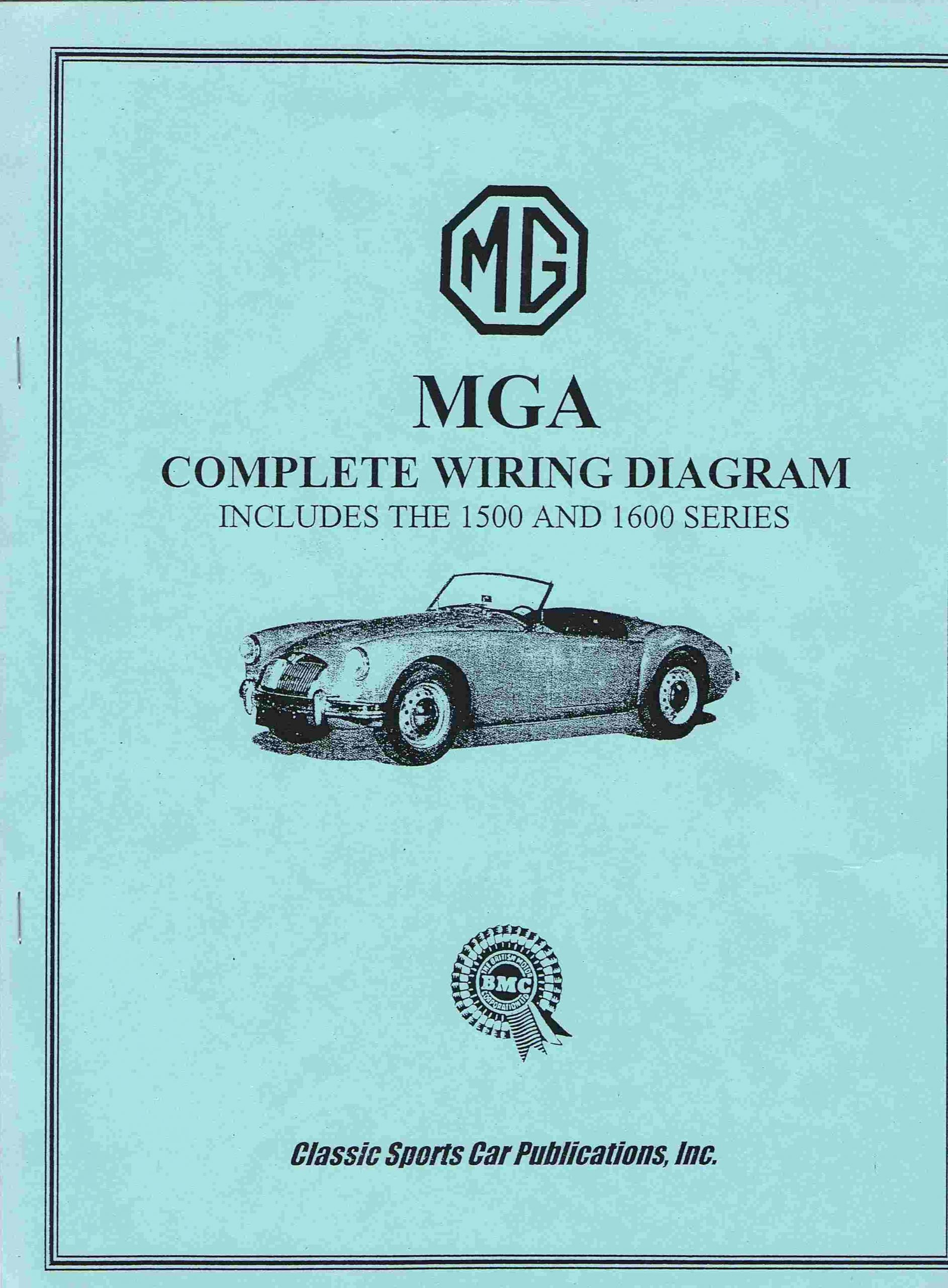 MGA The Complete Wiring Diagram
