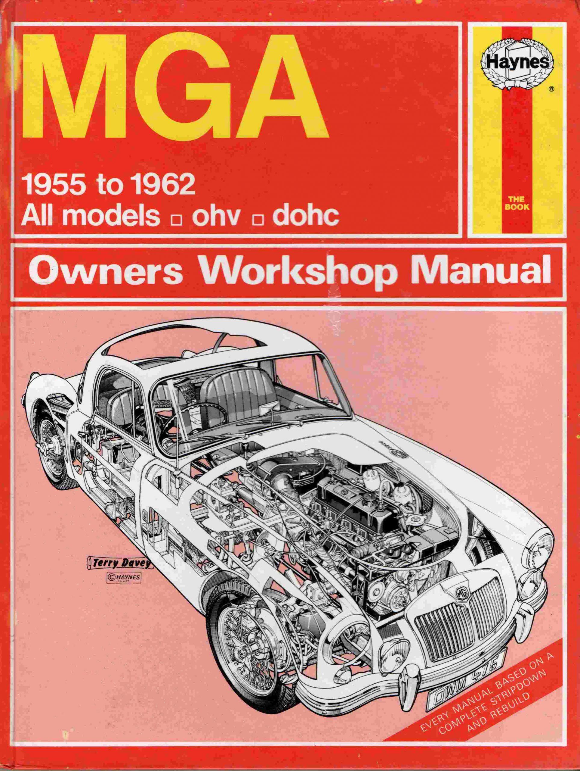 MGA  Haynes Owners Workshop Manual