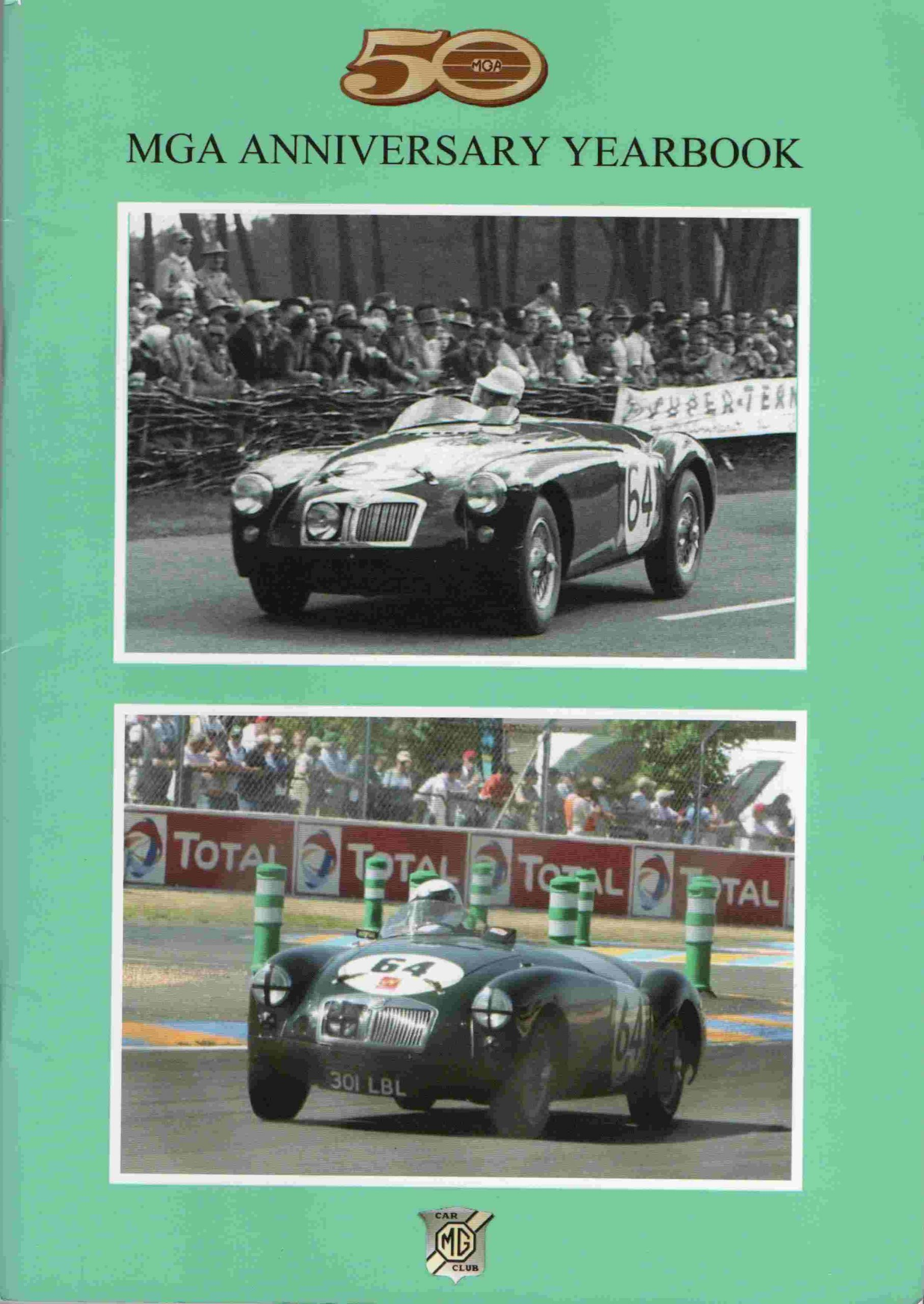 50 MGA Aniversary Yearbook. Kr. 150