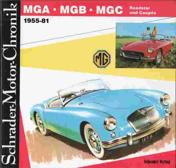 MGA, MGB, MGC, 1955 – 1981