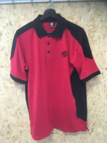 Rød/Sort MG Polo